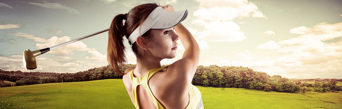 Golf osteopathy / golf physio trainer